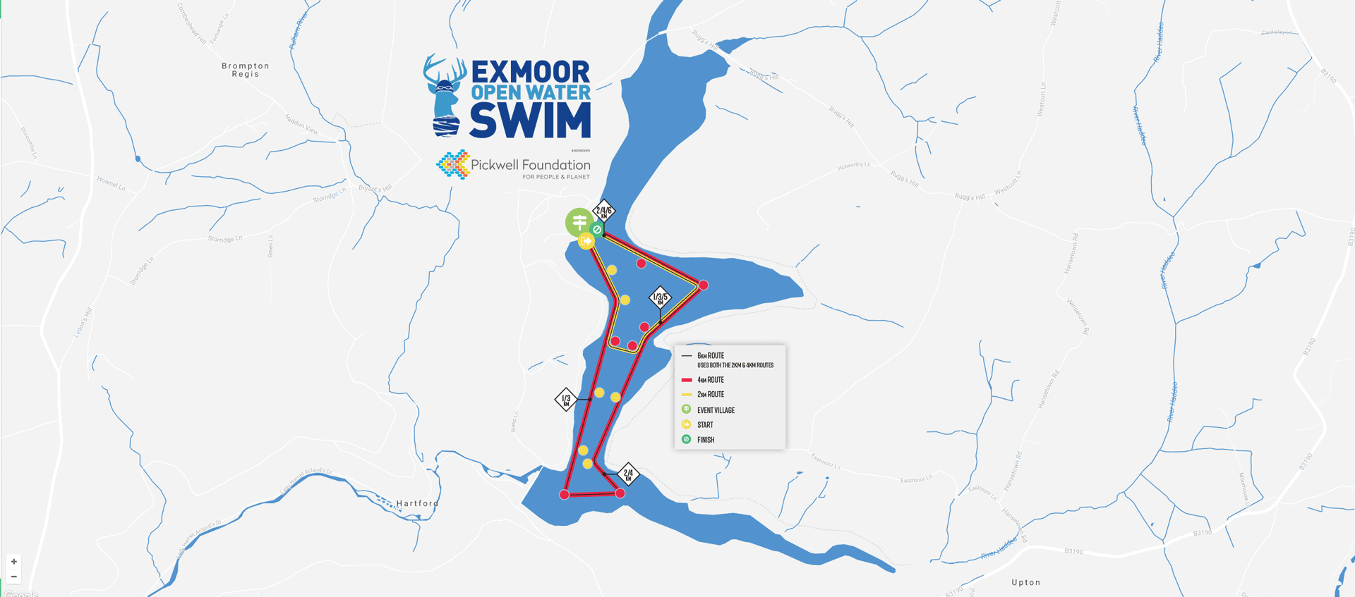 Exmoor Open Water Swim, Wimbleball Lake, Exmoor