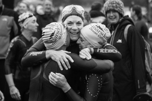 2019 exmoor swim the finish